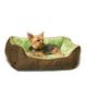KH Mfg Self-Warming Lounge Sleeper Mocha Dog Bed