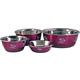 Durapet Gunmetal Stainless Dog Bowl Large