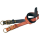 Petego Classic Flat Leather Dog Collar LG Brown