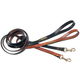 Petego Leather Show Dog Leash Brown