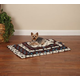 Slumber Pet Pawprint Dog Crate Mat XL IVY