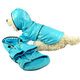 Pet Life Light Blue PVC Raincoat for Dogs MD