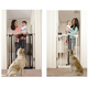 Extra Tall Swing Closed Security Gate Black