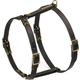 Petego Classic Leather Dog Harness X-Large Brown