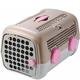 Petego AUTO Designer Pet Carrier Pink Wheels