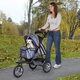 Guardian Gear Sprinter EXT II Pet Stroller Plum