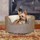KH Mfg Self-Warming Cozy Sleeper Tan Dog Bed SM