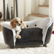Enchanted Home Pet Snuggle Bed Black/White Dog Bed