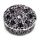 Savvy Tabby Wild Time Disc Cat Teaser Brown