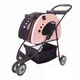 PetZip Mochi Pet Carrier and Stroller Pink