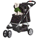 PetZip First Class Luxury Jogger Stroller Monogram