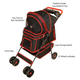 PetZIp Walkie Pet Stroller Red