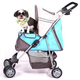 PetZip Sports XL Pet Stroller Orange