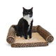 KH Mfg Lazy Lounger Leopard Cat Bed
