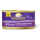 Wellness Cuts Minced Turkey/Salmon Cat Food 24pk
