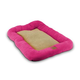 Precision Pet Fuchsia Rose Dog Bumper Crate Mat