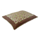 Precision Pet Green Spot/Tan Pillow Dog Bed