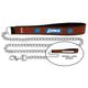 NFL Detroit Lions Leather Chain Leash LG