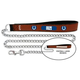 NFL Indianapolis Colts Leather Chain Leash LG