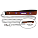 NFL Minnesota Vikings Leather Chain Leash LG