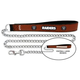 NFL Oakland Raiders Leather Chain Leash LG