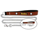 NFL Pittsburgh Steelers Leather Chain Leash LG