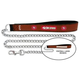 NFL San Francisco 49ers Leather Chain Leash LG