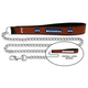 NFL Seattle Seahawks Leather Chain Leash LG