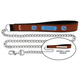NFL Tennessee Titans Leather Chain Leash LG