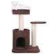 Armarkat Premium Carpeted Treehouse Cat Gym