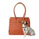 Bark n Bag Cognac Pebbled Monaco Pet Tote