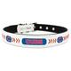 MLB Chicago Cubs Leather Dog Collar LG