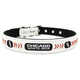 MLB Chicago White Sox Leather Dog Collar LG