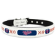 MLB Minnesota Twins Leather Dog Collar LG