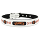 MLB San Francisco Giants Leather Dog Collar LG