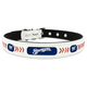 MLB Milwaukee Brewers Leather Dog Collar LG