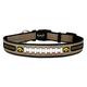 NCAA Iowa Hawkeyes Reflective Dog Collar LG