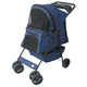 Go Pet Club Dark Blue Pet Stroller