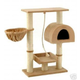 Go Pet Club 36 inch F16 Beige Cat Tree Furniture