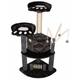 Go Pet Club 50 inch F19 Black Cat Tree Furniture