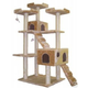Go Pet Club 72 inch F2040 Beige Cat Tree Furniture