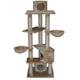 Go Pet Club 72 inch F2050 Beige Cat Tree Furniture