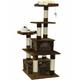 Go Pet Club 67 inch F205 Brown Cat Tree Furniture