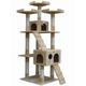 Go Pet Club 72 inch F2080 Beige Cat Tree Furniture