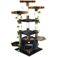Go Pet Club 67 inch F2091 Brown-Black Cat Tree