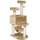 Go Pet Club 54 inch F29 Beige Cat Tree Furniture