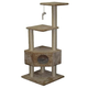 Go Pet Club 51 inch F32 Beige Cat Tree Furniture
