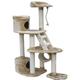 Go Pet Club 59 inch F37 Beige Cat Tree Furniture