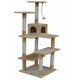 Go Pet Club 65 inch F55 Beige Cat Tree Furniture