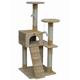 Go Pet Club 52 inch F56 Beige Cat Tree Furniture